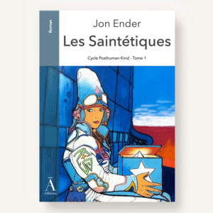 """Maquette de couverture du roman """"les Saintétiques"""""""