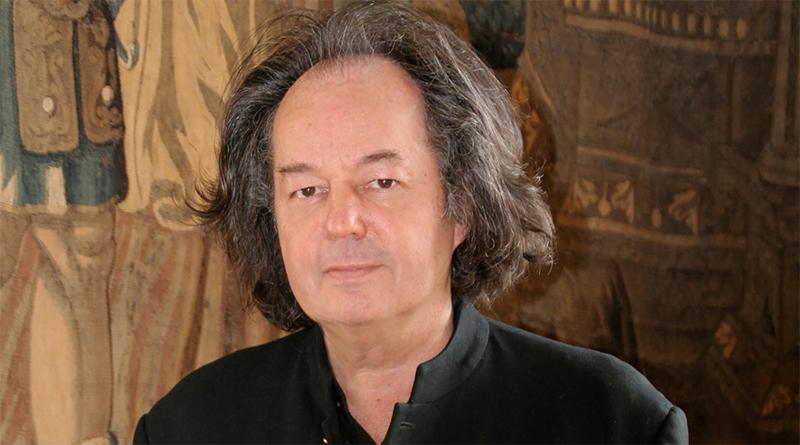 Gonzague Saint Bris en 2007, photographié par Armand Langlois au Clos Lucé.